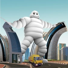 MICHELIN - Visuel concept