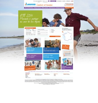 AZUREVA - Site de réservation en villages vacances