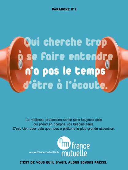 FRANCE MUTUELLE - Annonce presse