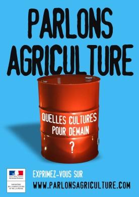 """MINISTERE DE L'AGRICULTURE - Lancement site """"Parlons agriculture.com"""""""