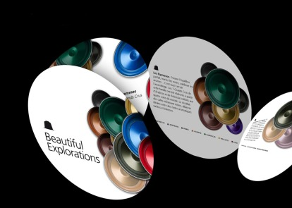 NESPRESSO - Gamme capsule - Projet mailing