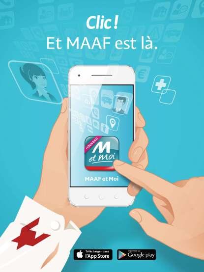 Lancement appli MAAF et Moi - Visuel reveal