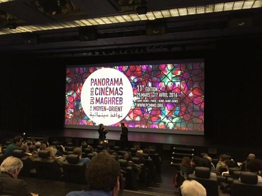Charte graphique du festival PCMMO de Saint-Denis - Ecran d'accueil