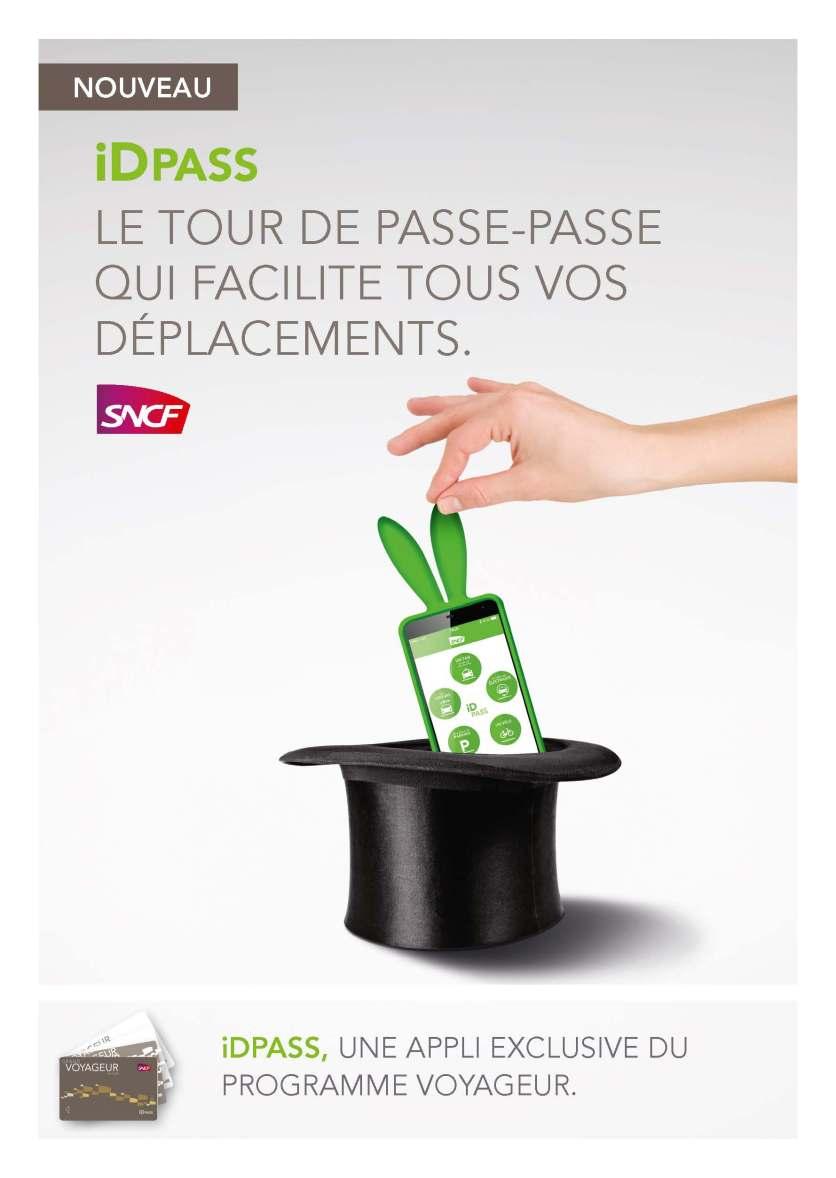 SNCF iDPASS - Visuel concept