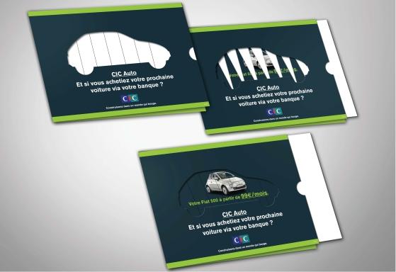 Campagne de lancement CIC AUTO - Mailing